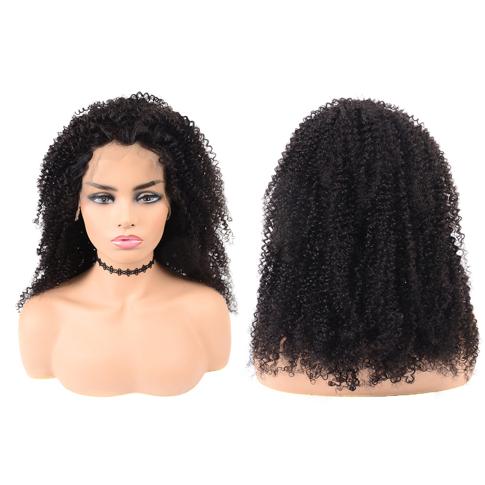 Arabella Hair 15A Grade Double Drawn Kinky Curly Human Hair Lace Front Wig For Women Online For Sale
