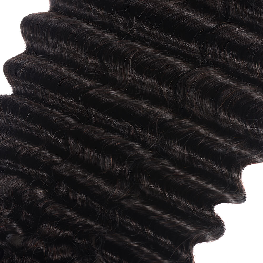 Brazilian Loose Deep Wave Virgin Human Hair 3 bundles/lot
