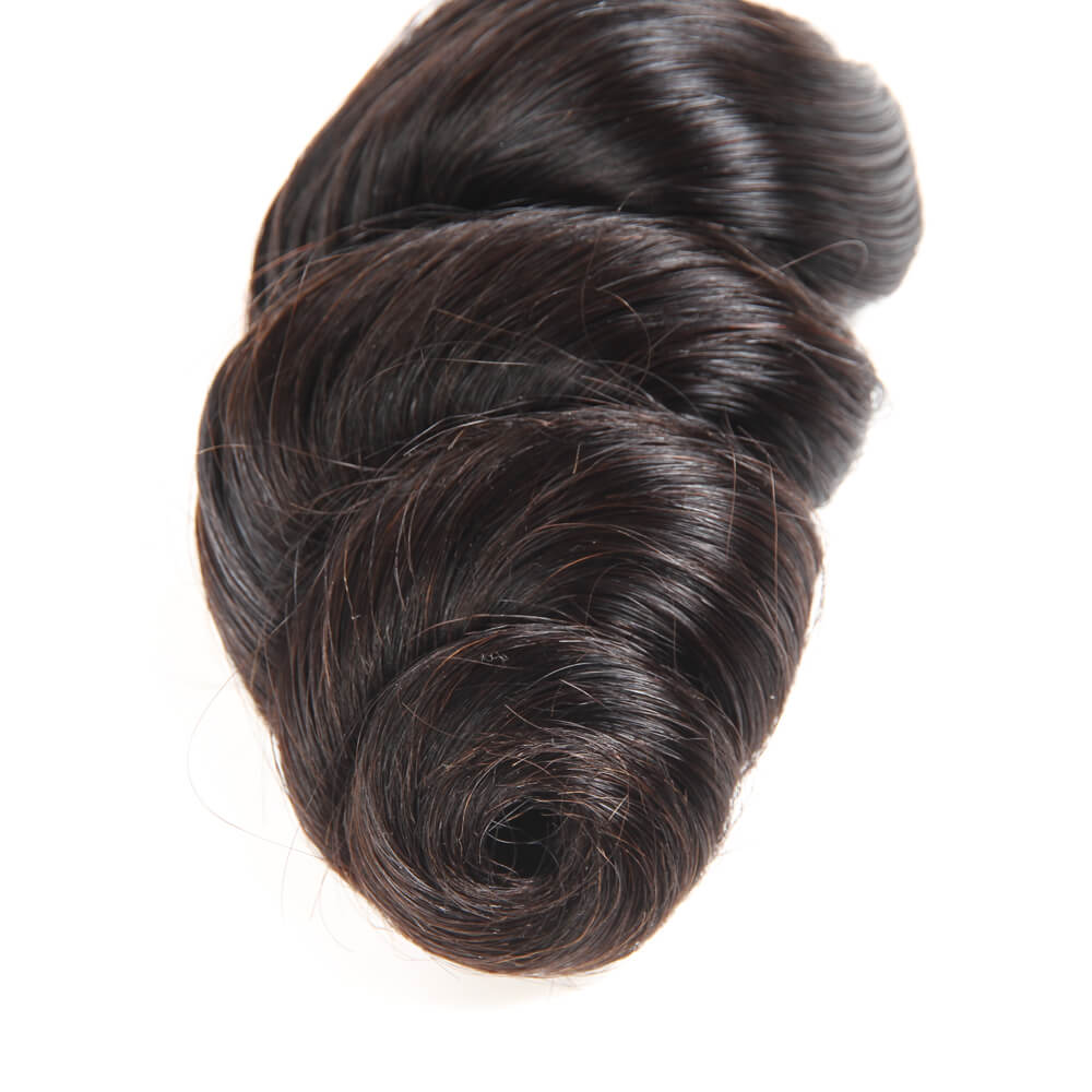 Peruvian Loose Wave Human Hair 4 Bundles/Pack