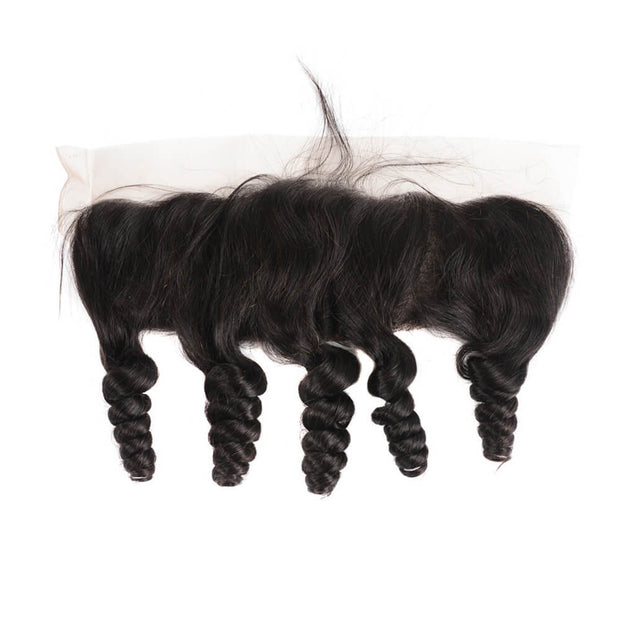 Arabella Human Virgin Hair Loose Wave Hair Lace Frontal Hair Closure 1 Piece