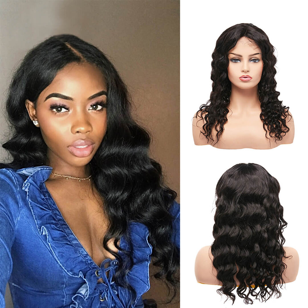 Arabella Human Hair Wigs Loose Wave Full lace Wig For Women
