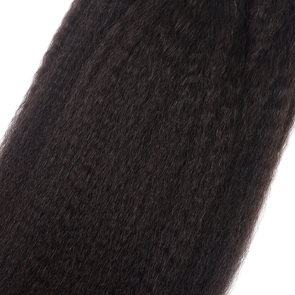 Brazilian Yaki 100% Human Virgin Hair 4 bundles/lot