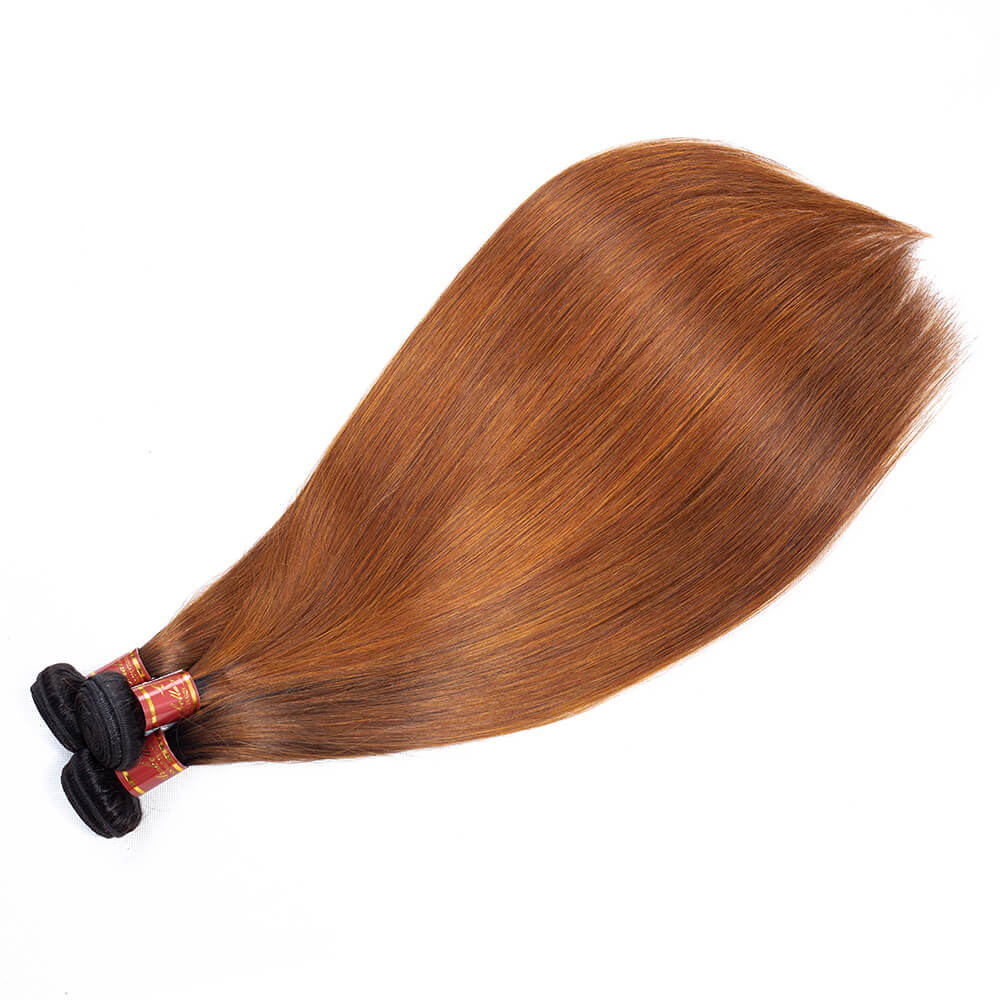 Brazilian Ombre T1b/30 Virgin Straight 3 Bundles/pack