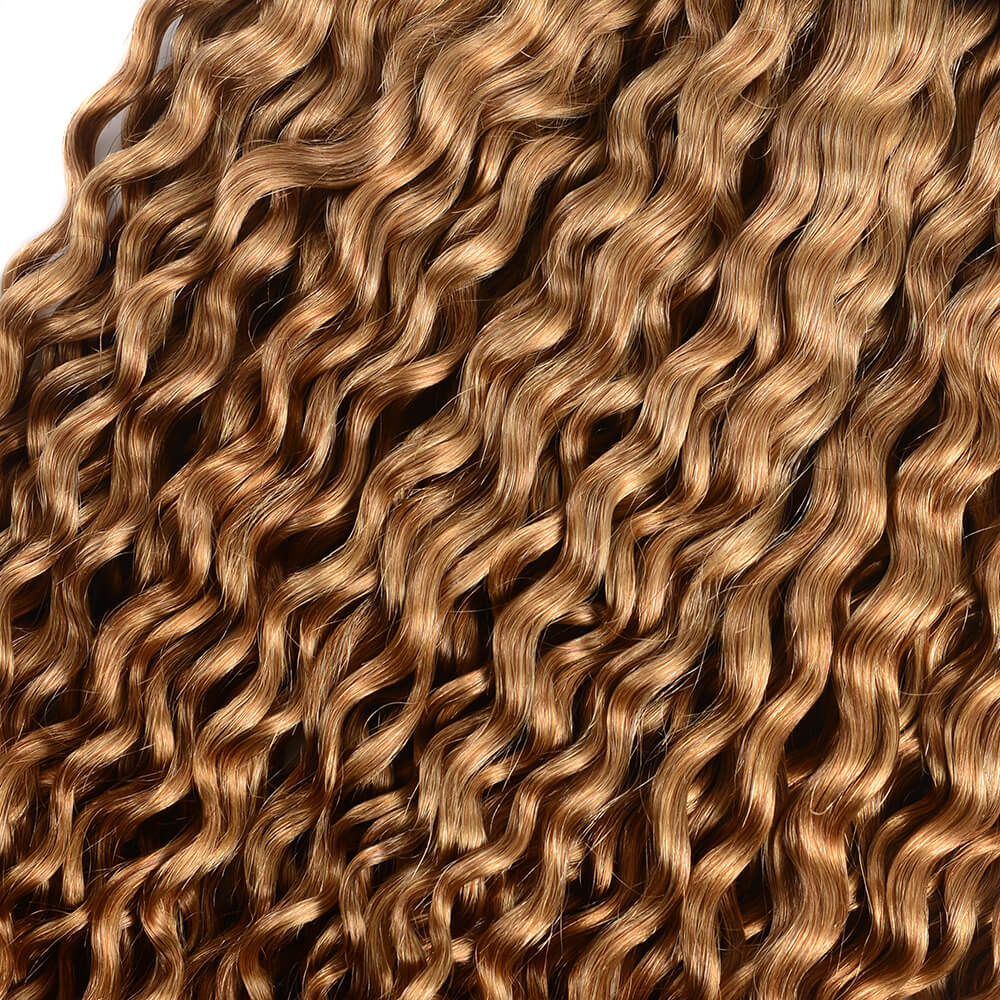 Brazilian Virgin Ombre T1b/27 Water Wave 3 Bundles/Pack