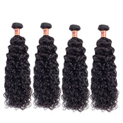 Brazilian Water Wave Human Hair 4 Bundles/Pack