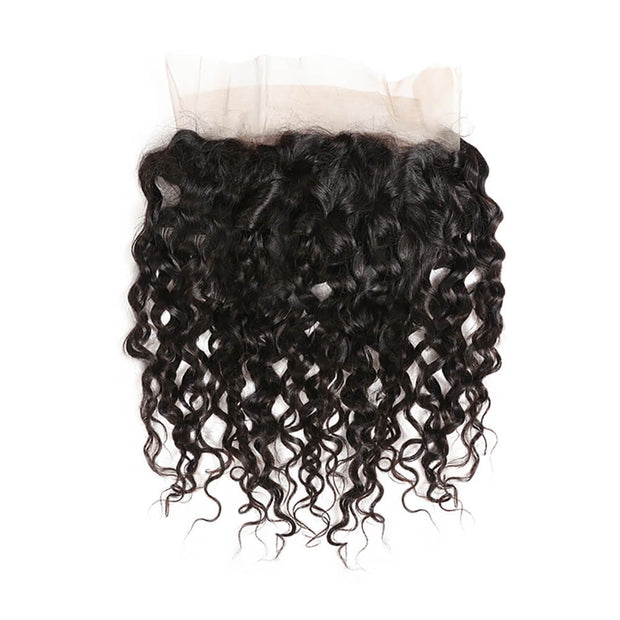 Water Wave 360 Lace Frontal Closure Unprocessed Human Hair