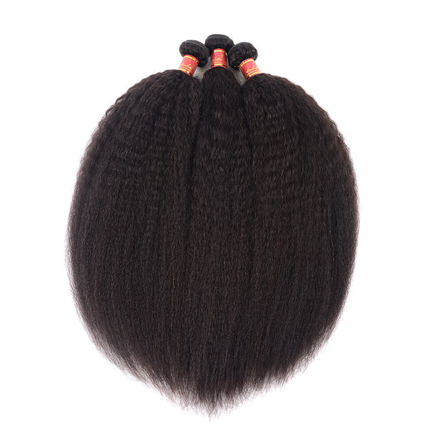 Arabella Brazilian Virgin Yaki Hair 3 Bundles/pack