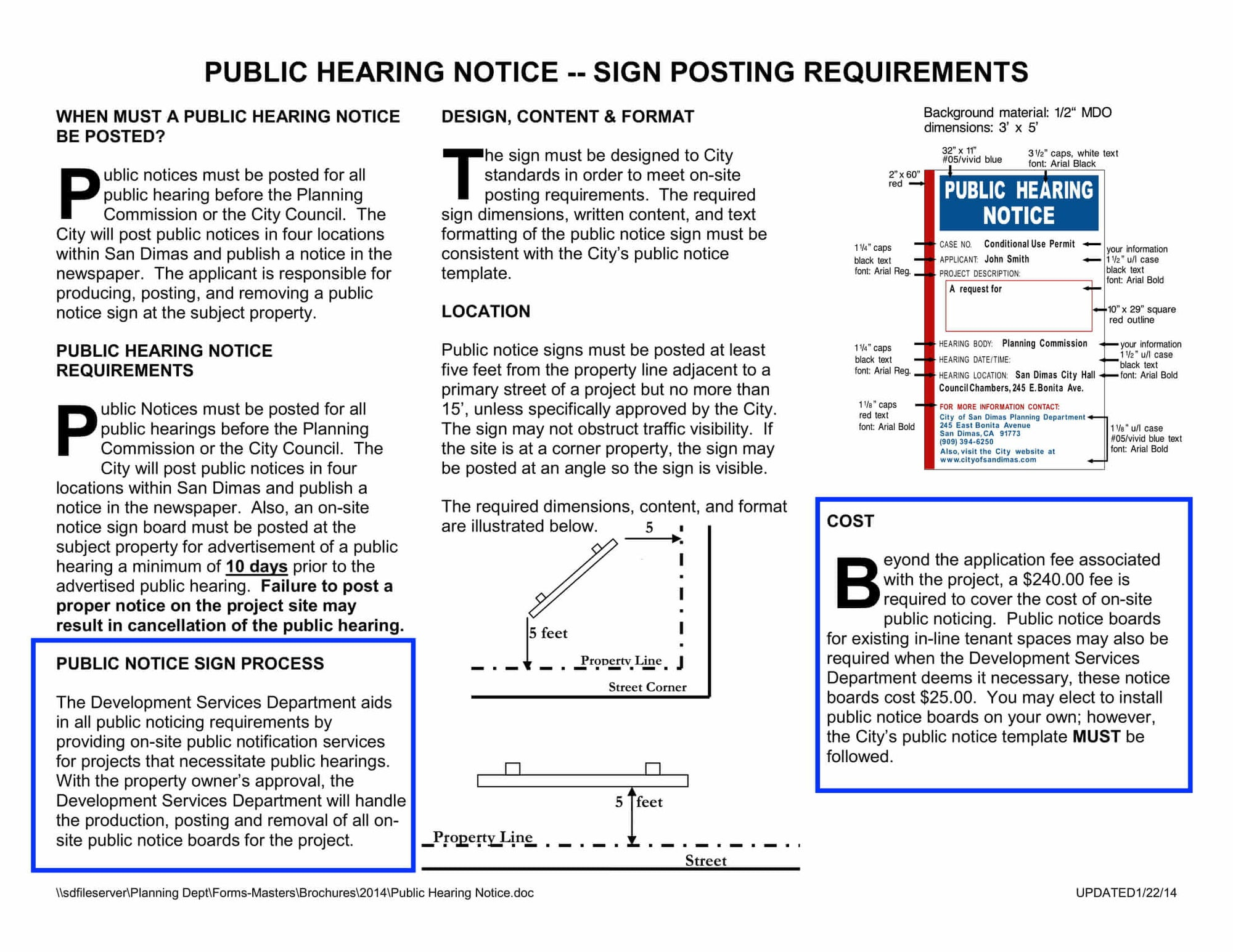 San Dimas-Public Hearing Notice-Radius Map-300 Feet-Property Owner List-Labels