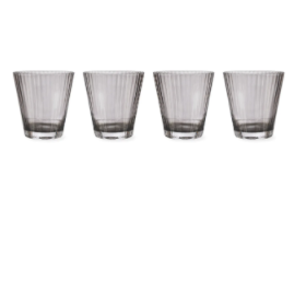 Set of 4 Tumblers  - Smoke