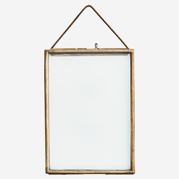 Brass Hanging Photo Frame