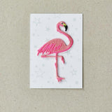 Iron on Patch - Flamingo