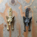 Antique Iron Fox Door Knocker