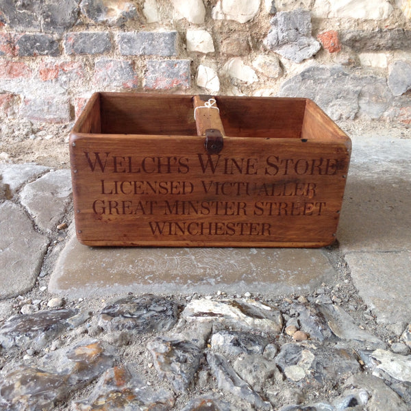 Welch's Wine Store Wooden Box - Extra Large