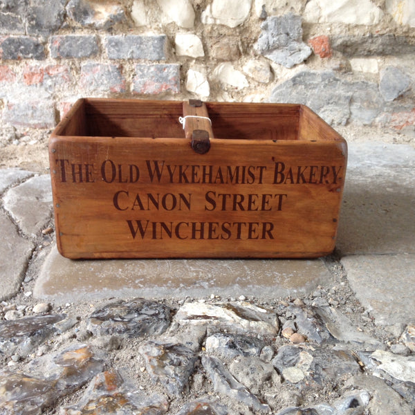 Old Wykehamist Bakery Wooden Box - Large
