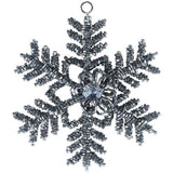 Glass Beaded Snowflake Decoration