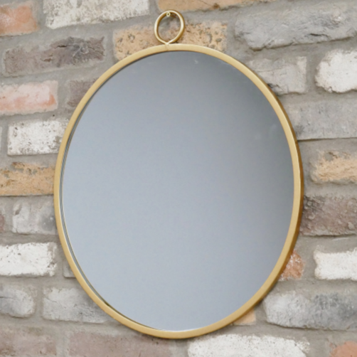 Gold Circular Mirror From The Consortium Romsey Winchester Hampshire Specialists In Vintage Retro Antique Industrial Furniture The Consortium Winchester And Romsey Hampshire