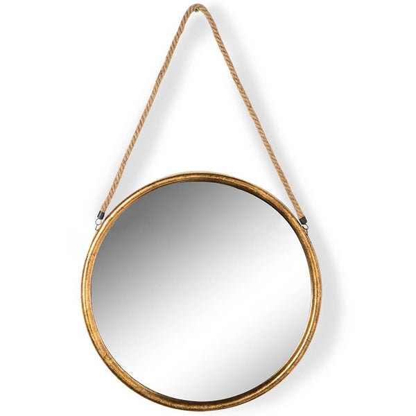 Gold Metal Rope Mirror  - Small, Medium, Large