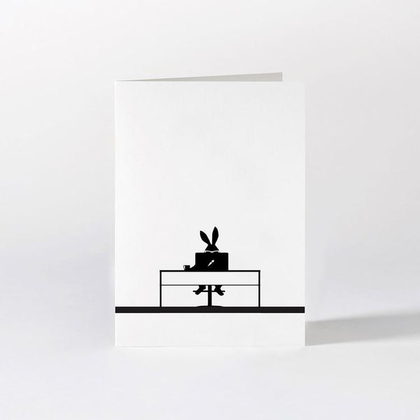Working Rabbit Card