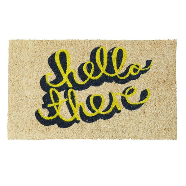 Hello There Door Mat