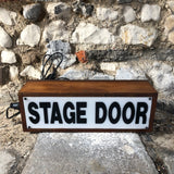 Vintage Lightbox- Stage Door