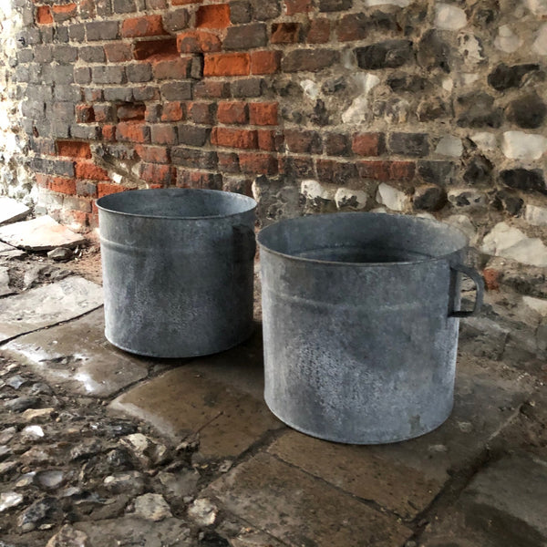 Large Galvanised Tubs