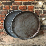 Vintage Metal Pizza Trays