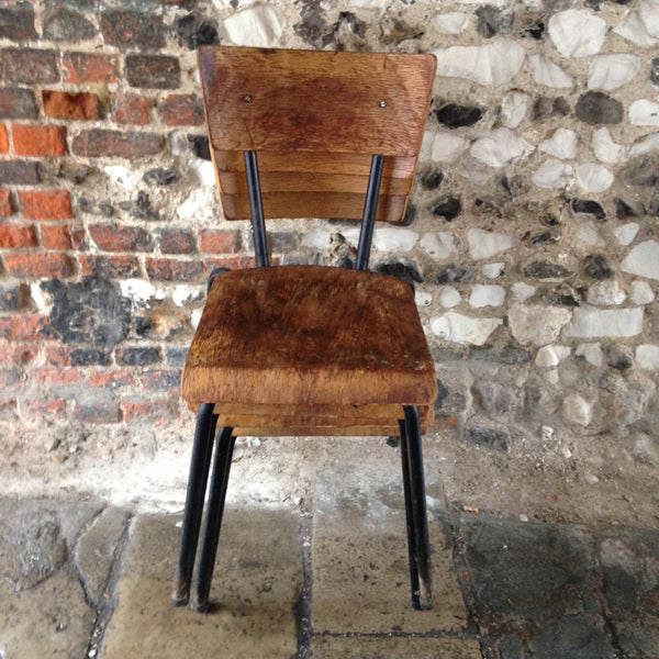 Set of 2 Retro Chairs