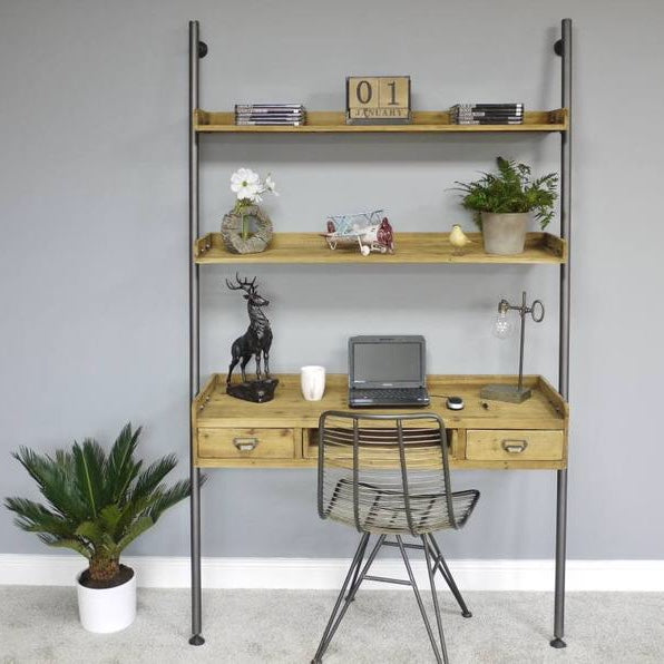 Wall Ladder Desk Unit