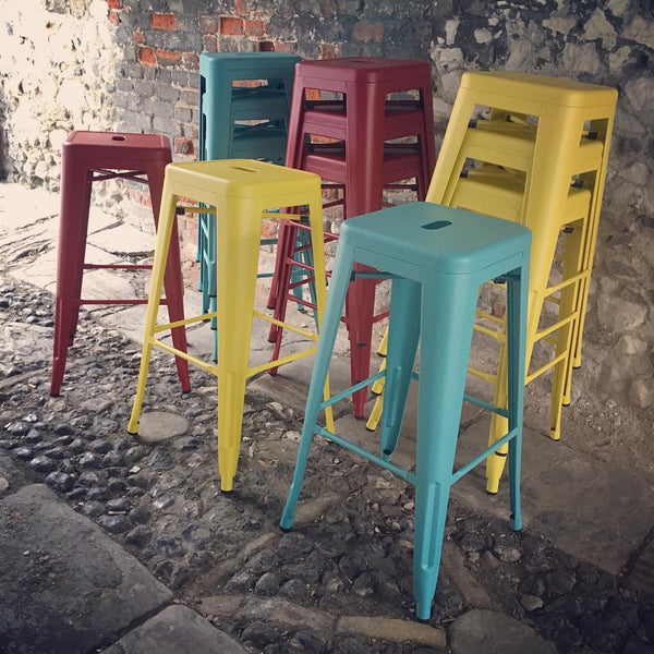 Metal Stacking Stools
