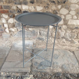 Bistro Tray Table, Charcoal
