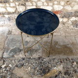 Blue Tray Table