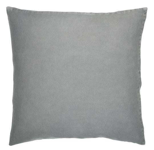 Linen Cushion - Grey Smoke