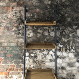 Industrial Ladder Shelf Unit
