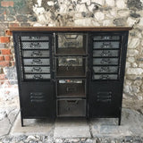 Industrial Metal Cupboard