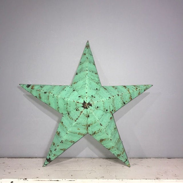 Light Green Armish Barn Star