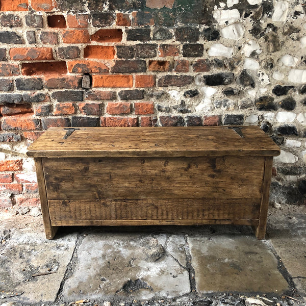 Reclaimed Storage Bench