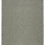Recycled Plastic Outdoor Rug - Grey Green