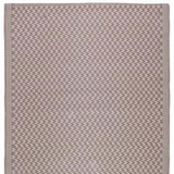 Recycled Plastic Outdoor Rug - Pale Pink