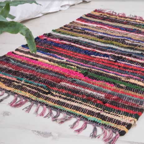 Multi coloured Rag Rug