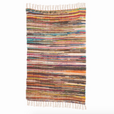 Multi coloured Rag Rug- Large