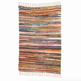 Multi coloured Rag Rug- Extra Large