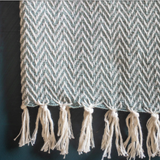 Yarn Zig Zag Throw