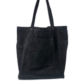 CORY corduroy shopper - Black