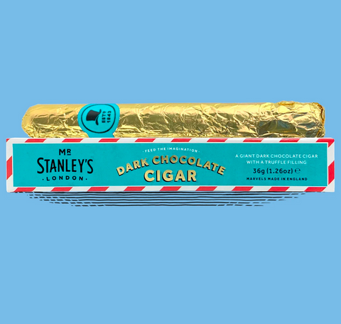 Mr Stanleys Giant Dark Chocolate Cigar