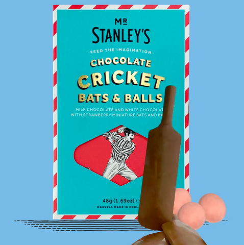 Mr Stanleys Cricket Bat and Balls