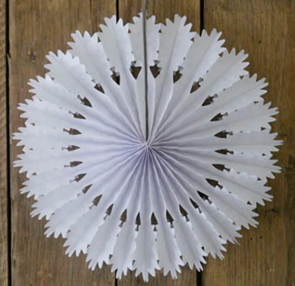 Paper Snowflake - Small oak
