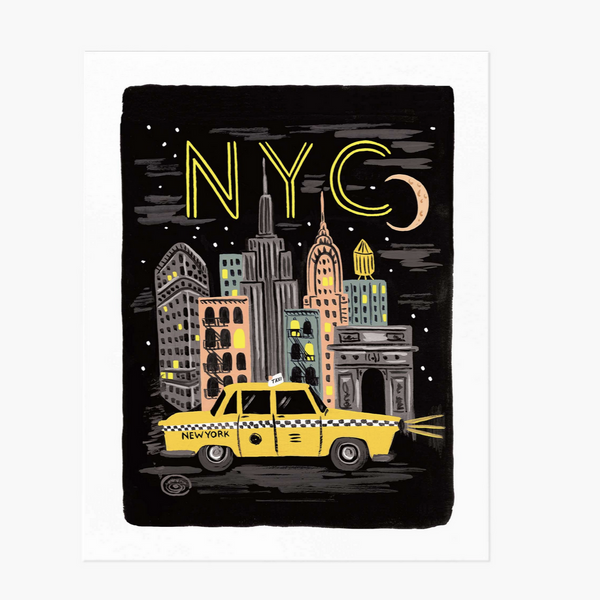 Rifle Paper NYC Print