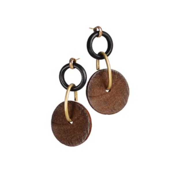Hoops and Wheels Earrings