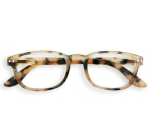 Izipizi Glasses - Light Tortoise, #B