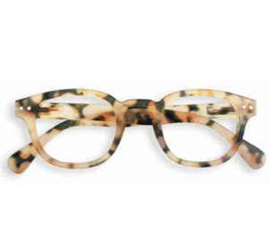Izipizi Glasses - Light Tortoise, #C